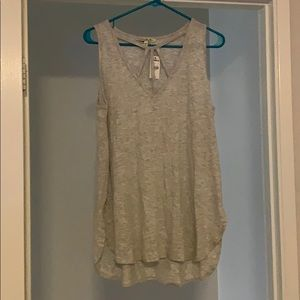 Express one eleven grey tank top BNWT sz large